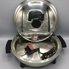 "New ListingLifetime 12-7/8"" Liquid Core Electric Skillet #92010"