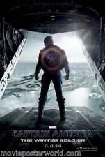 CAPTAIN AMERICA 2 THE WINTER SOLDIER MOVIE POSTER DS MoPoWo
