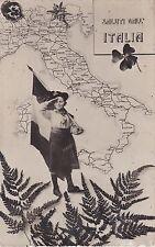 SALUTI DALL'ITALIA - BAMBINO - BERSAGLIERE 1911