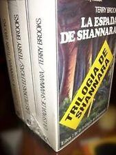 LA TRILOGIA DE SHANNARA (3 TOMOS) - TERRY BROOKS - ED. ACERVO - 1989