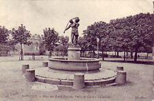 CPA 50 Normandie SAINT-LO Place des Beaux-Regards Statue de Laitière normande
