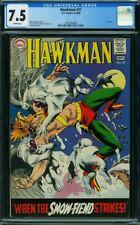 HAWKMAN 27 Cgc 7.5 vf 1ST APPEARANCE SNOW FIEND GENERAL KIN YO DC COMICS Book
