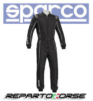 TUTA KART SPARCO GROOVE KS-3 NERO SILVER  CIK- FIA  N2013.1 - 002334