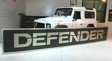 Land Rover Defender 130 110 90 V8 TDi TD5 Bonnet Badge Decal Label Etched Nickel