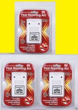 3 Riddex Plus Pest Repeller As Seen on TV Aid for Rodents Roaches Ants