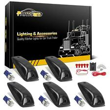 5 Cab marker Clearance Smoke Light+W5W 5-5050-SMD blue LED for Chevy+wiring pack