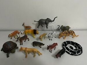 Jungle Animals toys Bundle toy job lot figure set