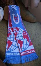 NEW REEBOK FACE OFF NHL MONTREAL CLASSIQUE SKI SCARF CANADA DE LA LNH HIUENNALE
