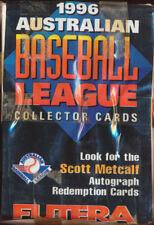 1996 Futera Australian Baseball Set of 110.
