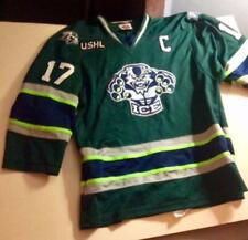 ~2013-14 Indianapolis (Indiana) Ice Game Used Jersey Tyler Pham Ushl Nice~