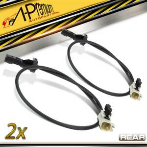 2x ABS Sensor With Cable for Jeep Grand Cherokee WH WK 2005-2010 Rear Left Right
