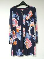 Joules Lizzie Jersey Tunic Top Navy Rose Size UK 12 rrp £49.95 DH002 KK 03