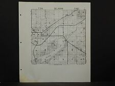 Wisconsin Walworth County Map 1966 Delavan or East Troy Rev. 1982 P3#94