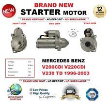 FOR MERCEDES BENZ V200 V220 CDi V230 TD 1996-2003 STARTER MOTOR 2.0kW 11-Teeth