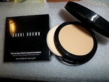 BOBBI BROWN OIL-FREE EVEN FINISH COMPACT FOUNDATION WARM SAND 2.5 FULL SIZE NIB