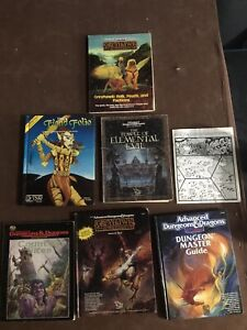 Dungeons and Dragons book lot