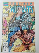 THE NEW MUTANTS #94 (1990) MARVEL COMICS CABLE! WOLVERINE! ROB LIEFELD ART!