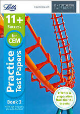 LETTS 11+ 4 Practice Test Papers Book 2, inc. Audio Download: for the CEM tests