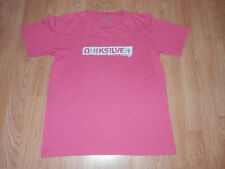 T shirt Quiksilver Rose Manches Courtes Taille 14 ans