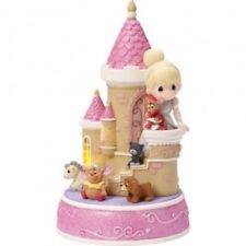 Disney Precious Moments 163106 Cinderella Castle Musical Figurine New & Boxed