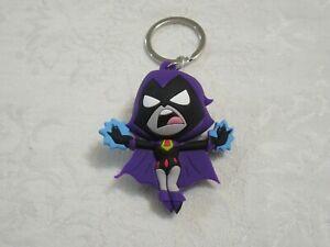 Monogram DC Teen Titans Go! 3D Figural Raven Keyring Keychain
