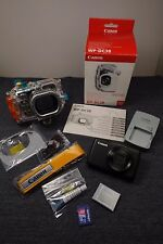 Canon PowerShot S95 Digital Camera 10MP w/NEW Underwater Case Bundle Excellent