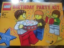 LEGO Birthday Party Kit #852998 Materials for 10, NEW In Box!