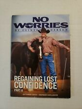 Clinton Anderson No Worries Club Dvd Regaining Lost Confidence Part 2
