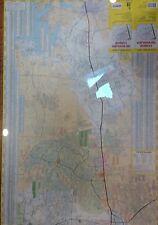 The Woodlands Conroe TX Laminated Wall Map (G)