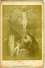 PHOTO Le Christ en croix par Van Dyck circa 1890