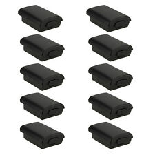 10x New Battery Pack Cover Shell Case Kit for Xbox 360 Wireless Controller Black