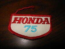 NOS Vintage Honda 75 Patch XR75 XL75 AHRMA