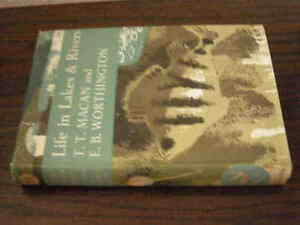 NEW NATURALIST LIFE IN LAKES AND RIVERS 1951 1ST EXCELLENT