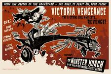 MUNSTER COACH LIMITED EDITION PRINT BY GRIS GRIMLY