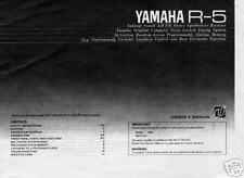 Yamaha ORIGINAL Owners Manual R5 R-5 FREE USA SHIPPING