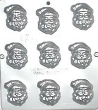 Santa Claus Face Chocolate Candy Mold Christmas 2012 NEW