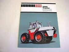 Case 4690 4WD Tractor Brochure 1979 24 Pages Excellent Condition