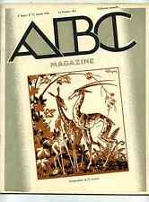 A-B-C Magazine d'Art 1928 art religieux,dessin documentaire,l'imprimerie