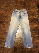 70's Levis Jeans Orange Tab California Straights Sz 26 Vintage Distressed