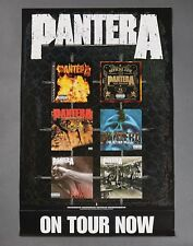 "Pantera ""On Tour Now"" 2001 Album Collage_Record Store Promo Poster 27X18"