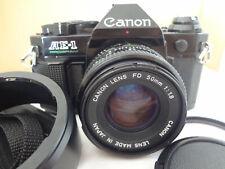Canon AE-1 Program FD50/1.8,filter,hood,strap light seal renew Japan Ex++++ 2610