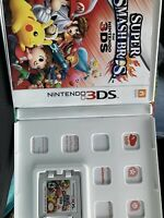 Super Smash Bros. (Nintendo 3DS, 2014) Case And Manuel