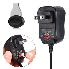 EU Stecker 3/4.5V/6V/7.5V/9V/12V Universal AC/DC Power Supply Ladegeräte Adapter