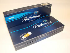 1000 ROTHMANS BLUE King Size MAKE YOUR OWN Empty Cigarette Filter Tubes