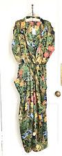 Ladies Zara Sleeveless Multicoloured Exotic Printed Jumpsuit XL BNWT LAST ONE