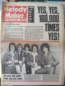 Melody Maker Mar 22nd '75 - Sparks Kevin Ayers John Martyn Pink Floyd Tiger Lily