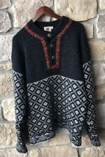 Bouviac Norway Sweater Mens Large 52 Nordic Pullover 100% Shetland
