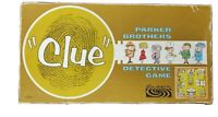 CLUE Detective Board Game Vintage 1960 by Parker Bros Complete