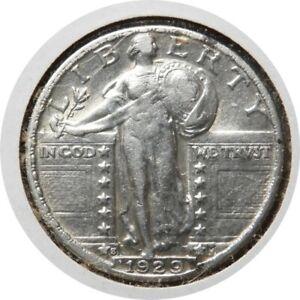 elf Standing Liberty Quarter 1929 S  K51