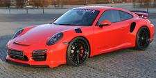 Porsche 911 991 Turbo S  Front Spoilerlip Spoilerlippe Spoiler EVO1 MOSHAMMER